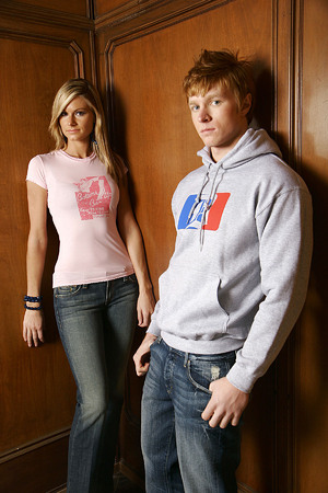 Carrie and Shawn for Chaud Jeans 2006