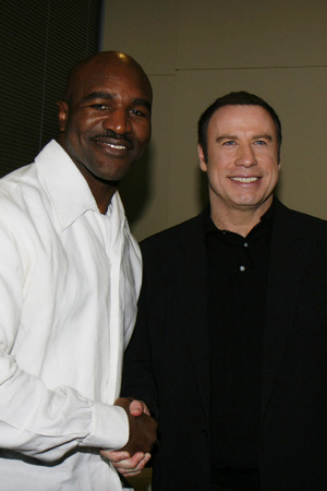 Super Bowl Saturday Night Spectacular Party with Evander Hollyfield and John Travolta 2008