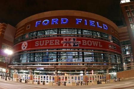 Ford Field Super Bowl XL