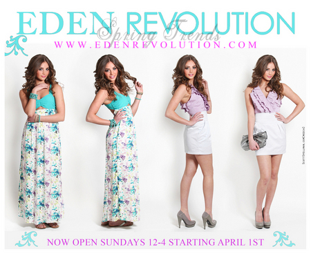 Eden Revolution Lookbook