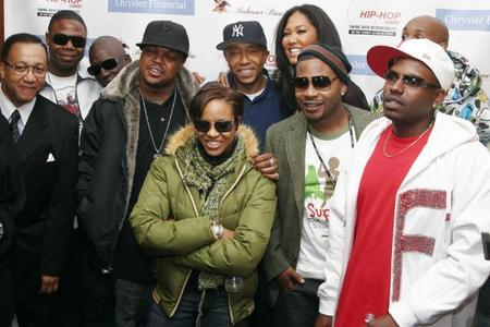 Russel Simmons, Kimmora Lee, Three 6 Mafia and Friends at the Hip Hop Summit