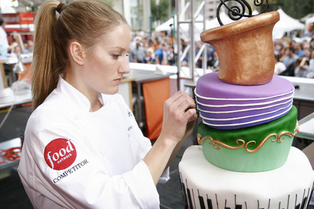 Food Network Cake Decorating Challenge in Detroit