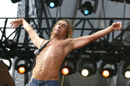 Iggy Pop at Lollapalooza
